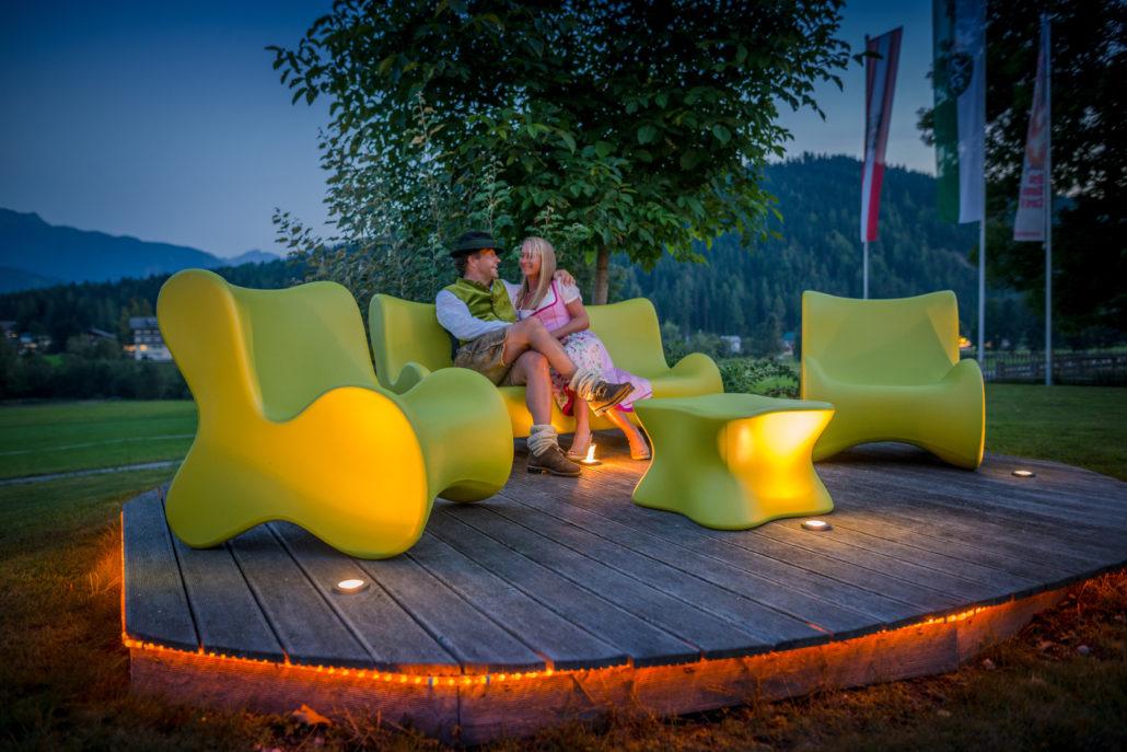 Hias und Caro Wieser Hotel Berghof