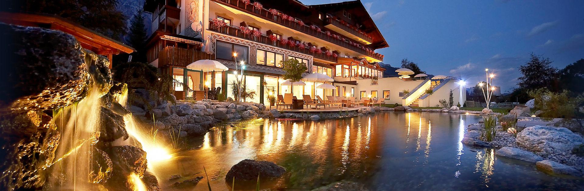 Hotel Berghof Ramsau am Dachstein Abendstimmung