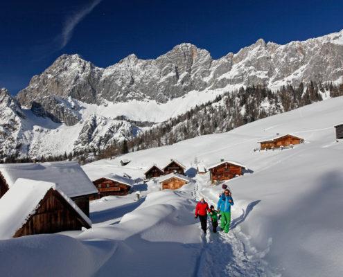 Winterwandern am Dachstein