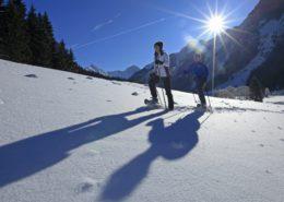 Schneeschuhwandern Hotel Berghof