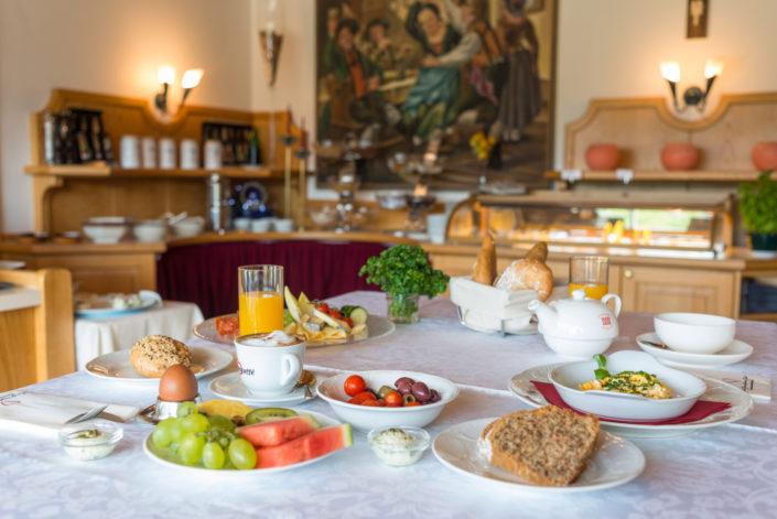 Frühstücksbuffet Hotel Berghof