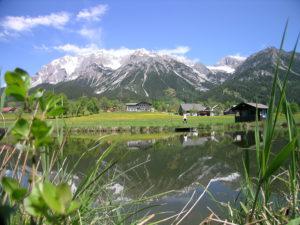 Badeteich Naturteich Hotel Berghof