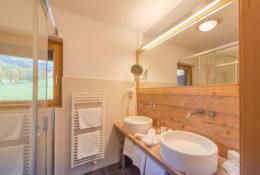 Badezimmer Hotel Berghof
