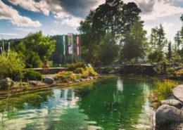 Gartenanlage Hotel Berghof Ramsau am Dachstein