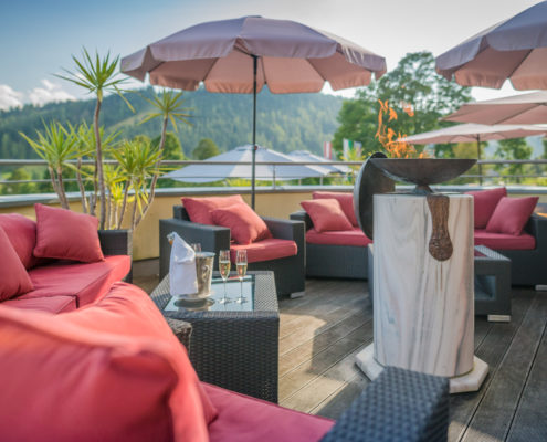 Hotel Berghof Terrasse