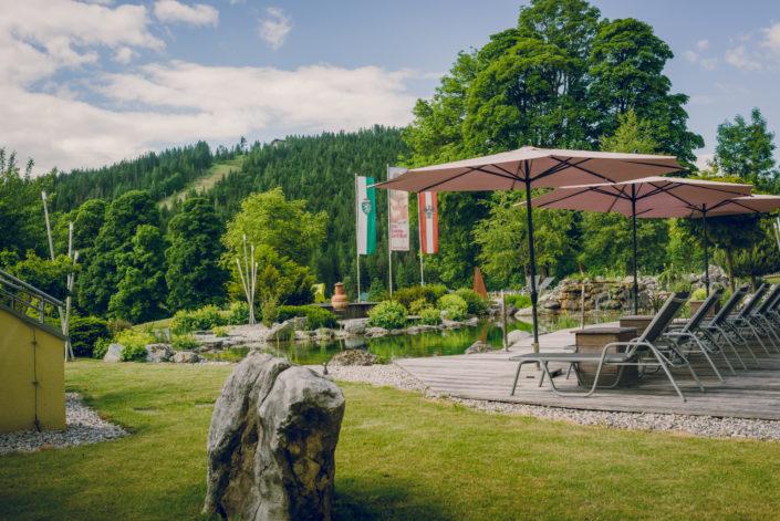 Gartenanlage Hotel Berghof