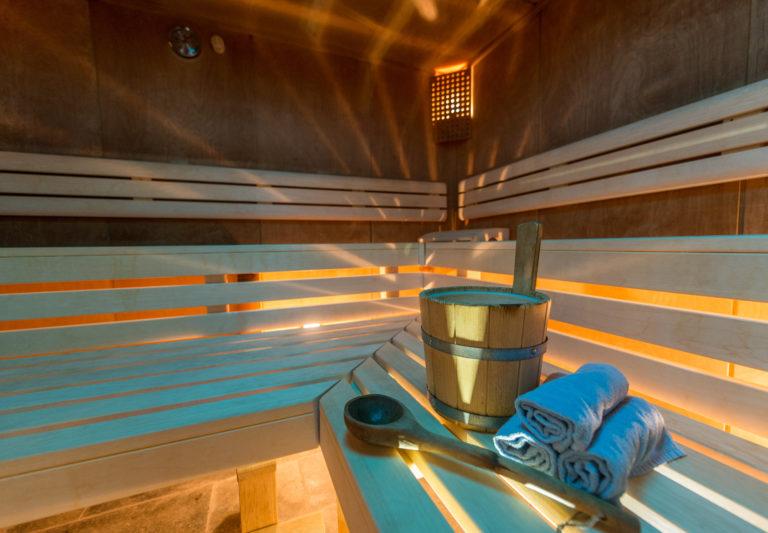 Finnische Sauna im Hotel Berghof