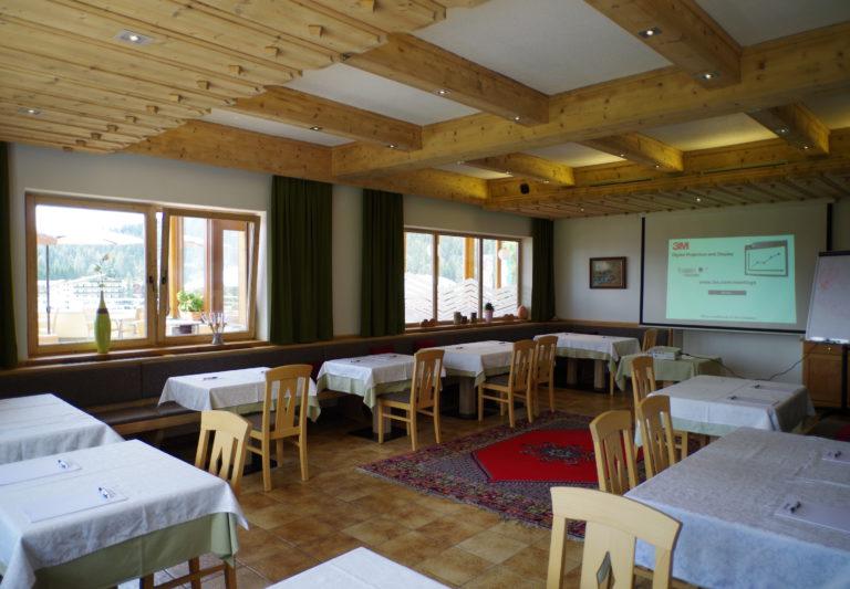 Seminarraum im Hotel Berghof