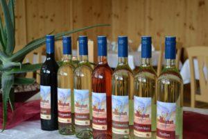 """Wein """"Die Freundschaft"""" vom Weingut Jauk im Hotel Berghof"""